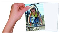 10 Pack Magnetic Photo Picture Frames - White Magnetic Photo