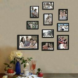 Adeco Trading 10 Piece Collage Picture Frame Set