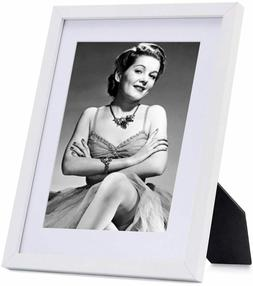10x8 white wooden picture frames wall mount