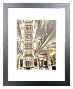 11 x 14 Picture Photo Frame Black, Gray or White Glass 8x10