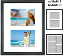 Icona Bay 11X14 Picture Frames Collage With 2 Mat Display Op