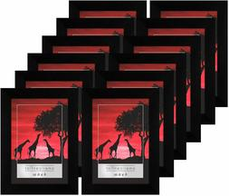 Americanflat 12 Pack - 4x6 Picture Frames - Display Pictures