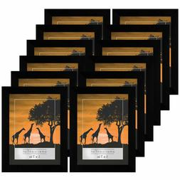 Americanflat 12 Pack - 5x7 Picture Frames - Display Pictures