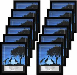 Americanflat 12 Pack - 8x10 Picture Frames - Display Picture