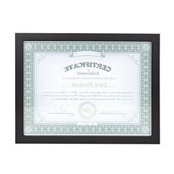 DesignOvation 209467 Gallery Wood Document Picture Frame, Bl