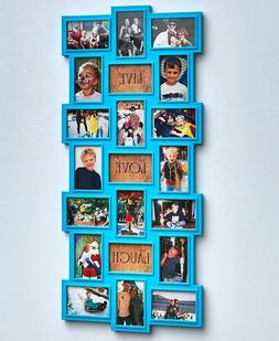 21 photo picture collage wall frame display