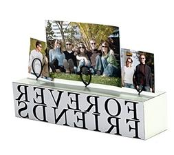 "Malden 3 Photo ""Forever Friends"" Stand Picture Frame"