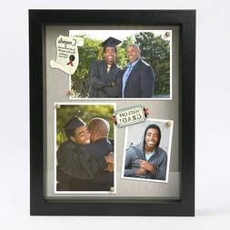 3D Picture Frame 8.5x11 Poster Black Deep Shadow Box Display