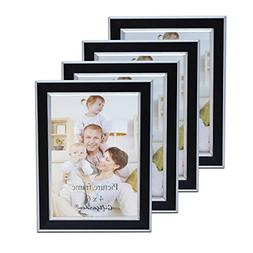 Giftgarden 4x6 Picture Frames Multi Photo Frame Set of 4 pcs