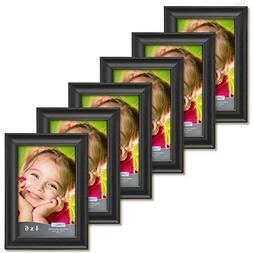 Icona Bay 4 by 6 Picture Frames  Wood Photo Frames, Wall Mou