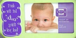 "4"" x 6"" Cute Funny Baby Talk Newborn Infant Picture Frame 84"