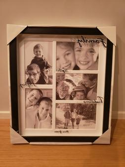 4x6 5 opening matted collage picture frame
