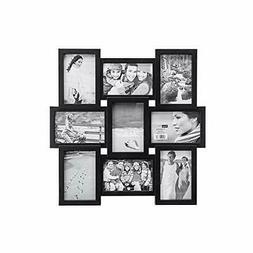 Malden 4x6 9-Opening Collage Picture Frame - Displays Nine 4