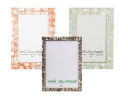 4x6 Picture Frames Chic Photo Frame Mother of Pearl Handmade