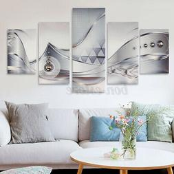 5Pcs Modern Abstract Giclee Canvas Print Art Painting Pictur