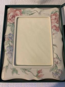 Lenox 5X7 Frame. The Chatsworth Collection. New In Box.