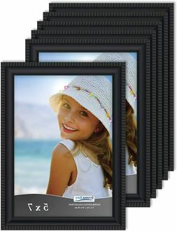 5x7 Picture Frames , Beautifully Detailed Molding, Picture F