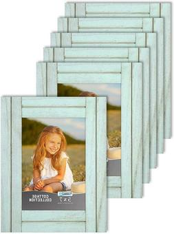 Icona Bay 5X7 Picture Frames, Rustic Picture Frame Set, Natu