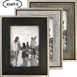 4x6 Picture Frames  - Rustic Distressed Industrial Frames -