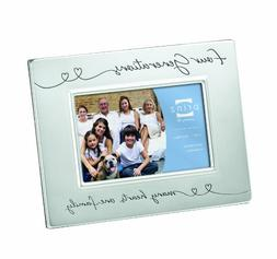Prinz 6 by 4-Inch Four Generations Silver Metal Frame