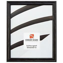 "Craig Frames .75"" Wide Traditional Black Wood Picture Frames"