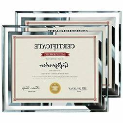 Giftgarden 8.5x11 Picture Certificate Document Frames Glass