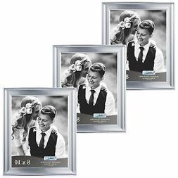 Icona Bay 8 by 10 Picture Frames  Photo Frame, Wall Mount Ha