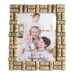 Giftgarden 8x10 Picture Frame Wine Cork Home Frames for 8 by