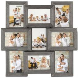 VonHaus 9x Decorative Collage Picture Frames for Multiple 4x
