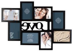 Gallery Solutions Love 8 Opening Dimensional Collage Wall Ha