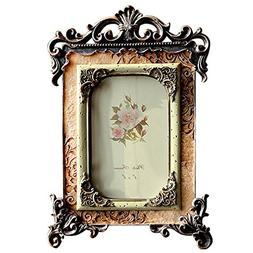 Gift Garden 4x6 Inch Vintage Picture Frame Friends Gift Phot
