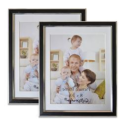 Giftgarden Picture Frames 8x10 Photo Frame Set for Wall, Mat