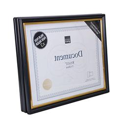 Kiera Grace Accent Document Frame with Plexi Sheet, 8.5 by 1