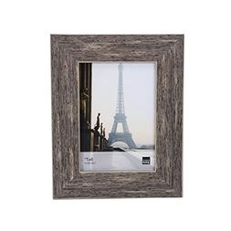 Kiera Grace Emery Picture Frame, 5 by 7 Inch, Weathered Grey