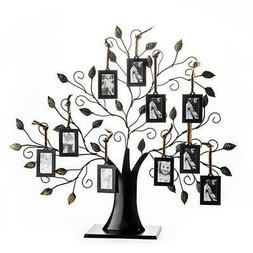 Klikel Family Tree Frame Display with 10 Hanging Picture Pho