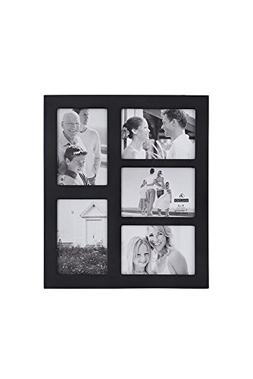 Malden 4x6 5-Opening Collage Picture Frame - Displays Five 4