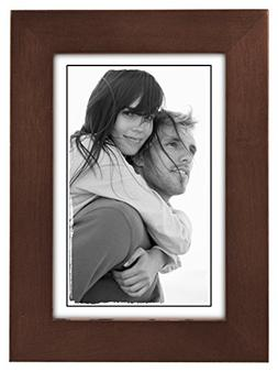 Malden 4x6 Picture Frame - Wide Real Wood Molding, Real Glas