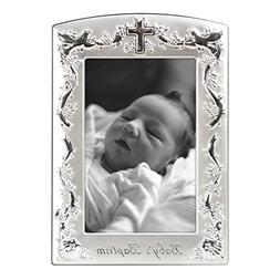 Malden International Designs Baby Baptism Two-Tone Picture F