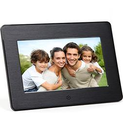 Micca 7-Inch Digital Photo Frame With High Resolution Widesc