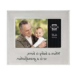 Prinz A Grandfather is Born Metal Frame for 6 by 4-Inch Hori