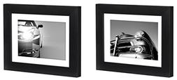 Two Tabletop Frames Made to Display Pictures Sized 4x6 inche