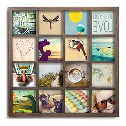 Umbra Gridart 4x4 Picture Frame – DIY Gallery Style Multi