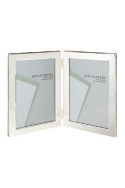 Viceni Silver Plated Double Aperture Picture Photo Frame, 3.