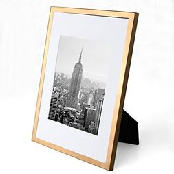 RAY&CHOW A4 Gold Picture Frame - Metal plated - GLASS window