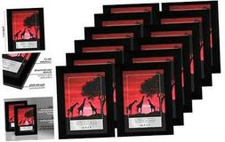 americanflat black 12 pack picture frames displays