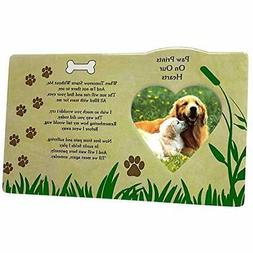 BANBERRY DESIGNS Pet Memorial Picture Frame - When Tomorrow