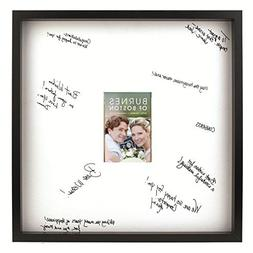 Burnes of Boston Black Frame with a Signature Mat, 20-Inch b