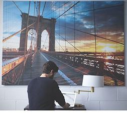 BGT Large Picture with Frame Canvas 55 x 79 Inches Extra Lar