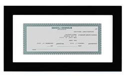 Americanflat Business License Frame - Display Business Licen