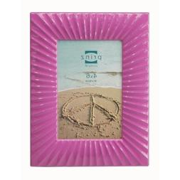 Prinz Cabana Metal Frame for 4 by 6-Inch Photo, Pink